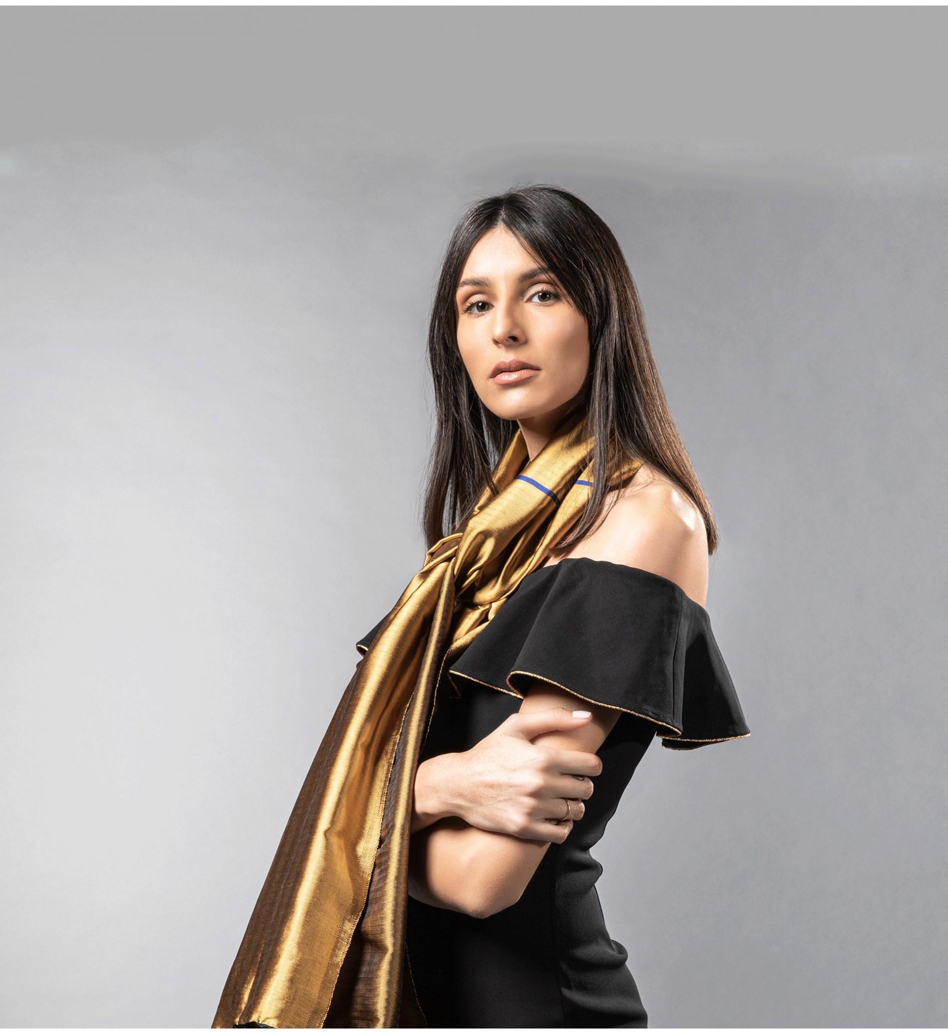 Echarpe pour Femme - Echarpe en Soie Fine pour Femme - Skila Tunisie